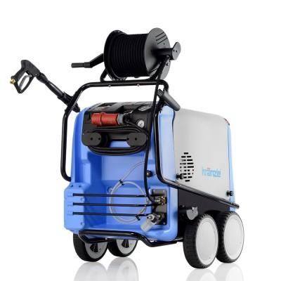 Kränzle Hochdruckreiniger therm-RP 1400 mit Schlauchtrommel und Edelstahl-Heizschlange