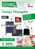 Düsing's Hitzeangebot: Weber Genesis II EP-335 im Set