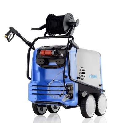 Kränzle Hochdruckreiniger therm-RP 1200 mit Schlauchtrommel und Edelstahl-Heizschlange
