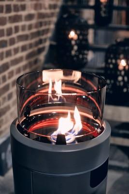 Enders® Nova LED M Feuerstelle, Grey/Black